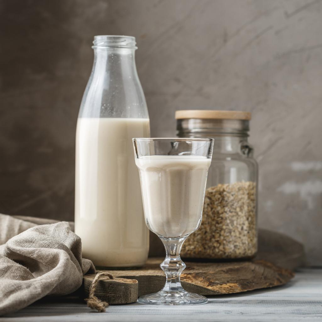 mleko roślinne w diecie