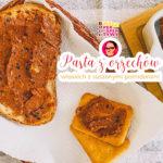 Pasta z orzechów włoskich z suszonymi pomidorami