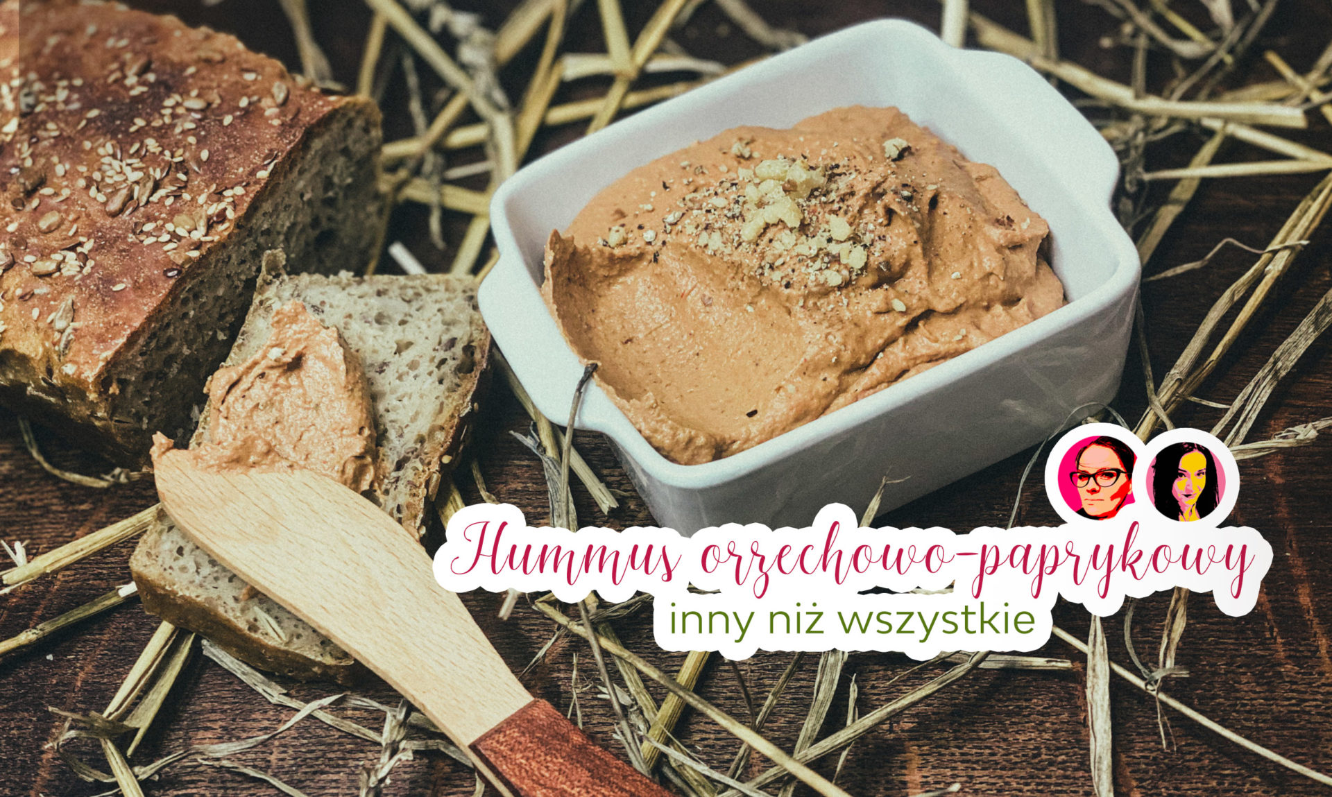 hummus paprykowo-orzechowy