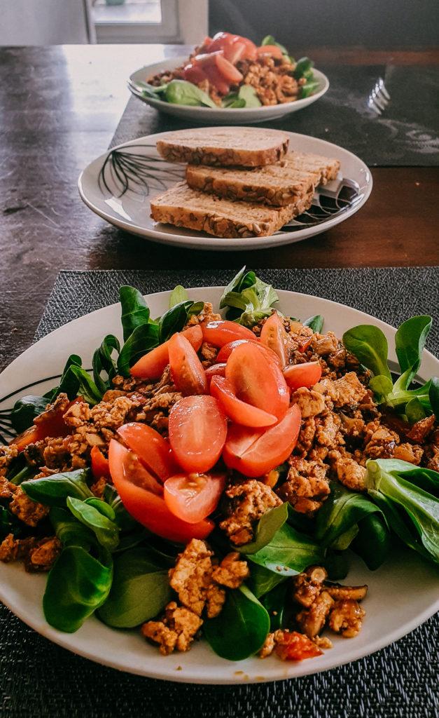 Idealna tofucznica na wegańskie śniadanie